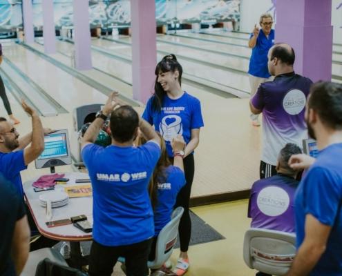 Maritime Shipping Bowling Corporate League Team building Umar Wsr Nicolr Constantinou