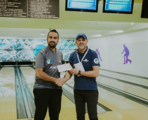 Nicholas Herodotou Maritime Shipping Bowling Corporate League Team building Umar Wsr