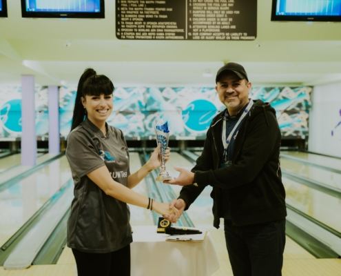 Nicole Constantinou Maritime Shipping Bowling Corporate League Team building Umar Wsr