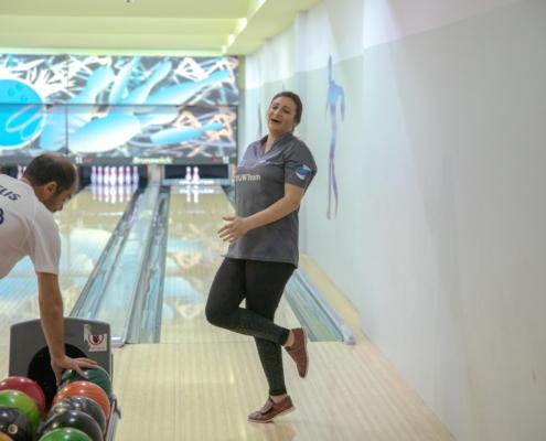 Antonia Gavriel Maritime Shipping Bowling Corporate League Team building Umar Wsr
