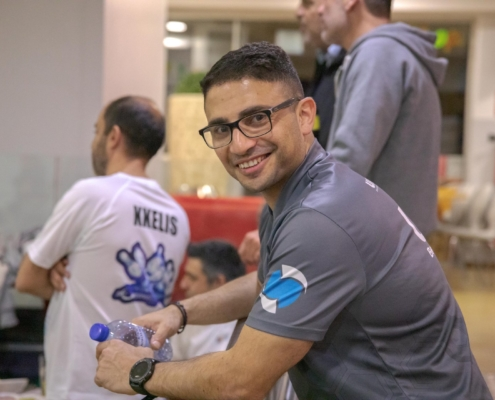 Michalis Sarris Maritime Shipping Bowling Corporate League Team building Umar Wsr
