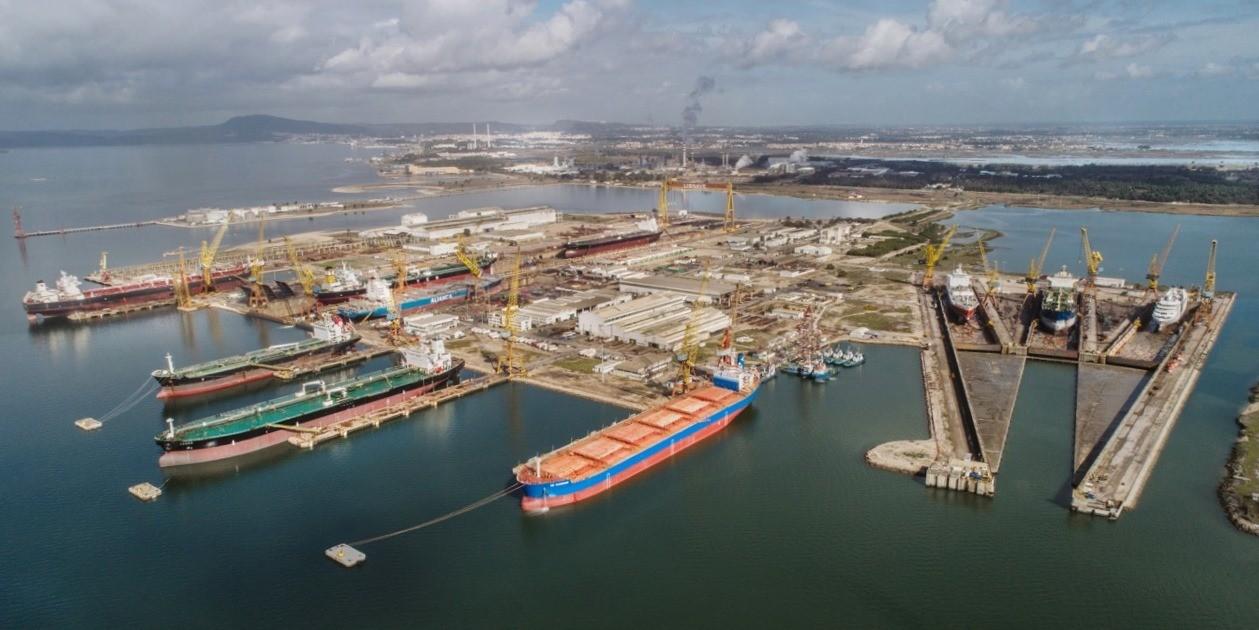 Lisnave Shipyard Drydock