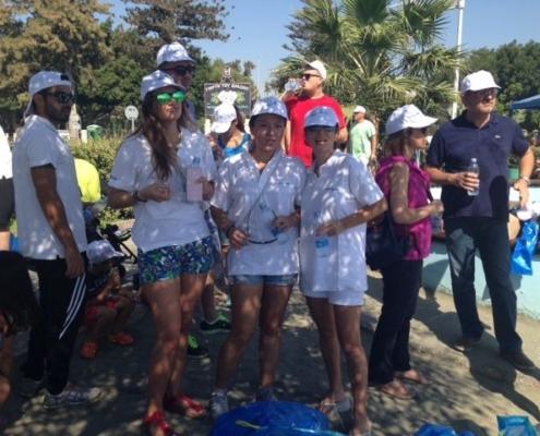 UW Green Team Beach Cleaning Think Green Shipping Maritime UmarWsr