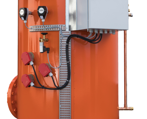 Kvit bakgrunn-Hot Water Calorifier, Control Unit