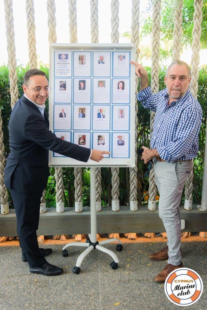 Thrasos Tsangarides & Candidates